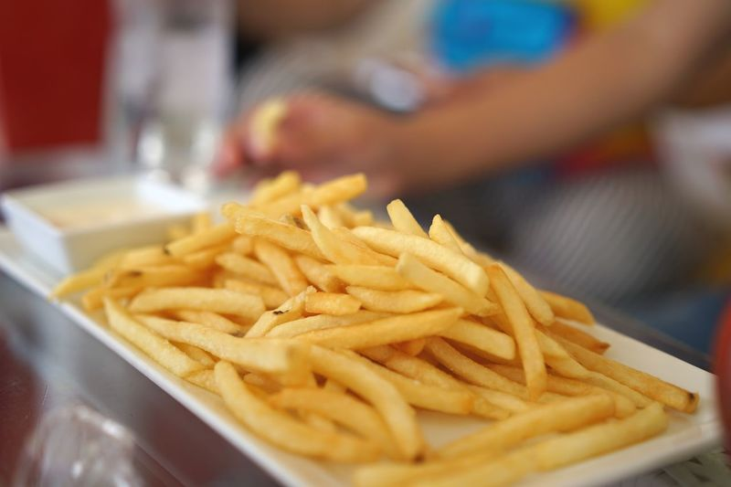 Frenchfries French Fries Food Food And Drink Unhealthy Eating Prepared Potato Close-up Indoors  Fast Food Deep Fried  Ready-to-eat First Eyeem Photo EyeEmNewHere