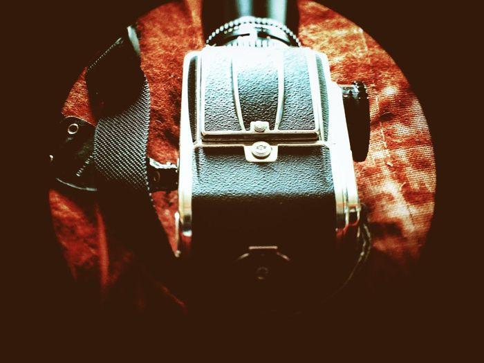Circle Frame Hasselblad Orange My Gear