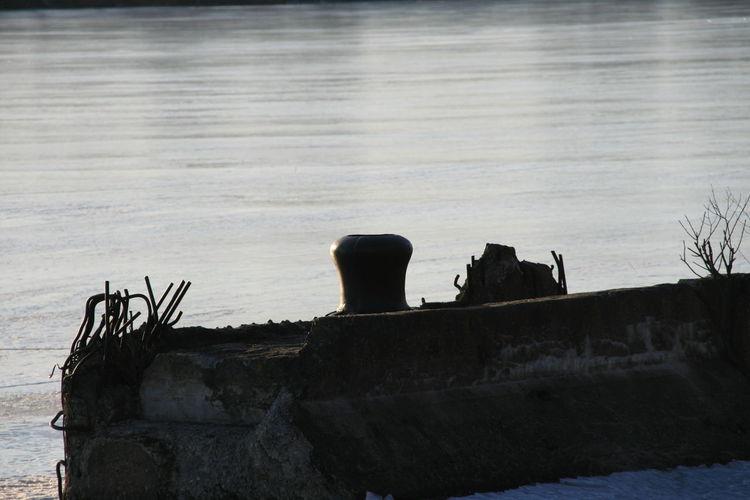 Broken Jetty Moscow River Spring The Week Of Eyeem Snowcase March