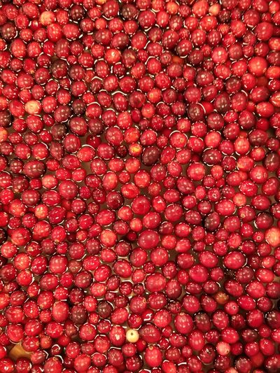 Full frame shot of red berries