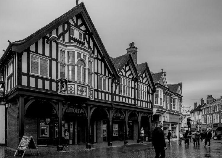Market Street, Wellingborough, Northamptonshire Architecture FUJIFILM X-T2 Town Monochrome Photography Black And White Monochrome Urban Architecture Northamptonshire Wellingborough Street