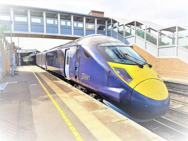 Southeastern Highspeed Train at Sittingbourne Railway Station 2017 2017 2017 Year 2017 Photo England, UK Great Britain Kent UK Sittingbourne Train Station Travel Travel Photography United Kingdom Architecture Building Exterior Built Structure Day Kent England Mode Of Transport No People Outdoor Photography Outdoors Public Transportation Sky Trains And Station Transportation Travelphotography Uk England