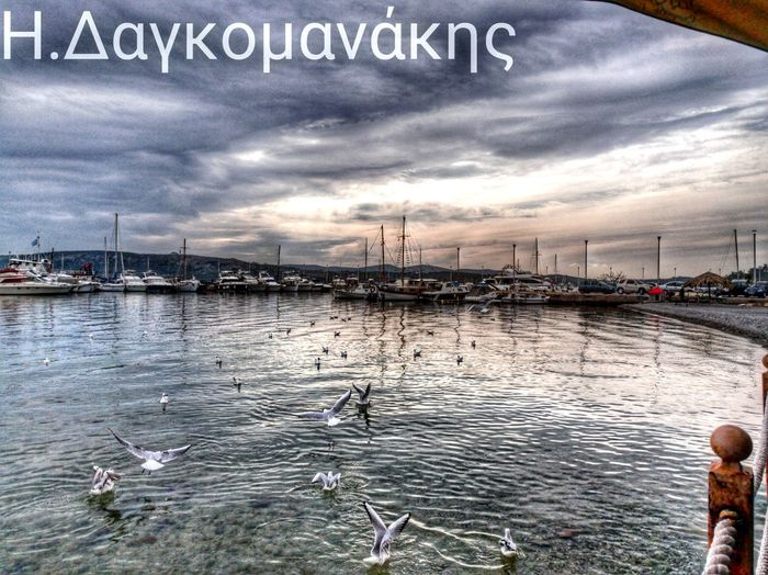 Hellas GREECE ♥♥ Mountains Sky Porn Sky And Clouds Sky Colors Seagulls And Sea Ducks Hdr Edit Nea Peramos Nature Photocontestgr The City Light