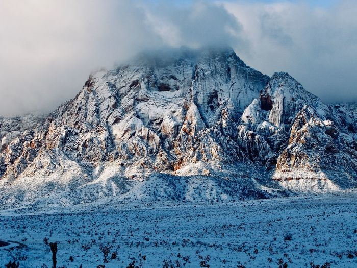 Redrock in snow Winter Snow Cold Temperature Beauty In Nature Scenics - Nature Mountain Tranquil Scene
