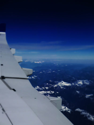 An Eye For Travel Mountain View Travel Aerial View Airplane Airplane View Airplane Wing Blue Cloud - Sky Flightview Mountain Peaks Tourism Travel Destinations