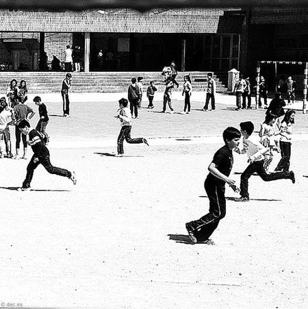 Por aquí. Children Bw Blancoynegro Blackandwhite