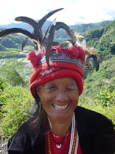Ifugao Woman Island Life Mountain Province Filipino Ifugao Indigenous People