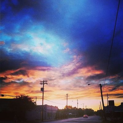 Houston Montrose Gayborhood Texas Nature Subtropical Sunset Texasskies Urbanjungle
