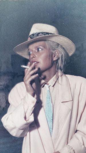 Clara, Fashion 1986 Trieste My Analogic Portfolio