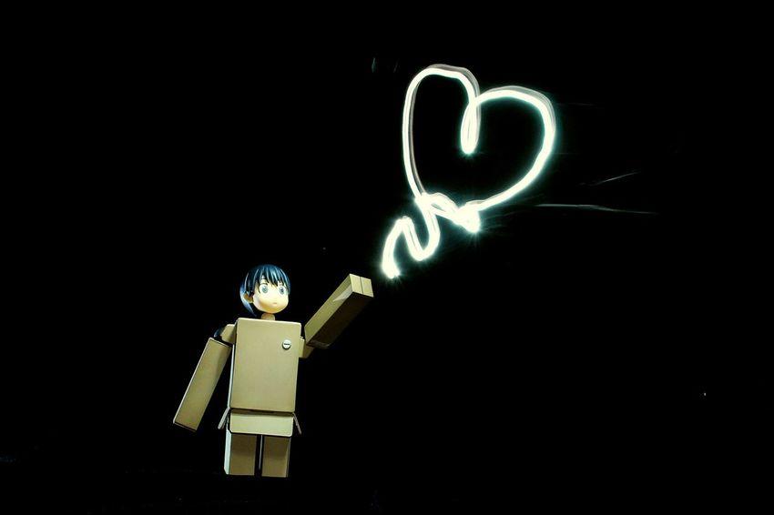 My heart floats everytime I think of you and it will take me to you. Danboard Kotobukiya Yotsuba Nikon Toy Photography First Eyeem Photo