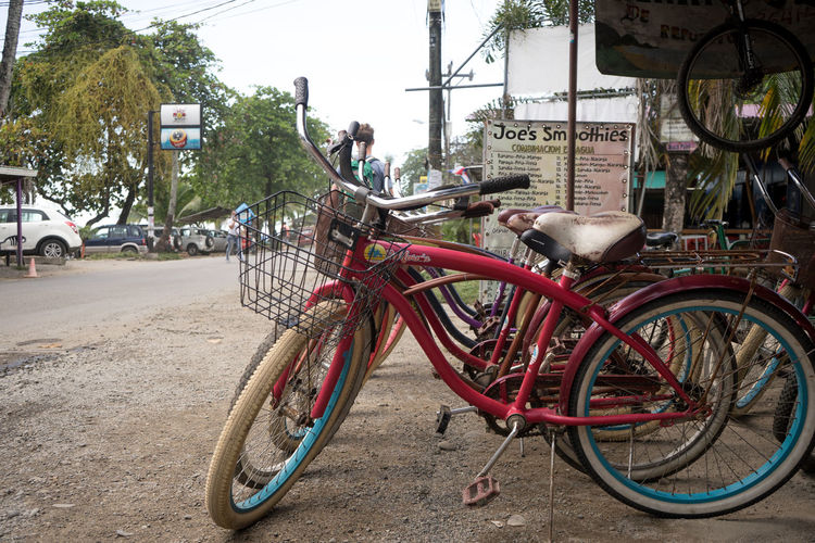 Costa Rica Bicycle Built Structure City Land Vehicle Mode Of Transport Outdoors Real People Road Street Transportation