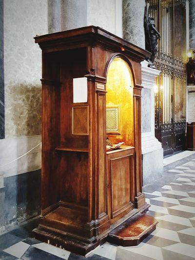 Religion Catholic Church Church Confessional Confessionale Church Interior Church Architecture Praying Prayer