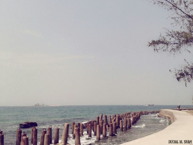 Beach Sky And Sea EyeEm Indonesia Check This Out