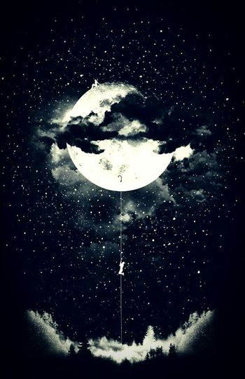 """I'll never be a morning person, for the Moon and I, are much too in love."" Nighttime Moonchild MoonlightZodiac Cancer Insomnia Quotes Inspirational Christopher Poindexter"