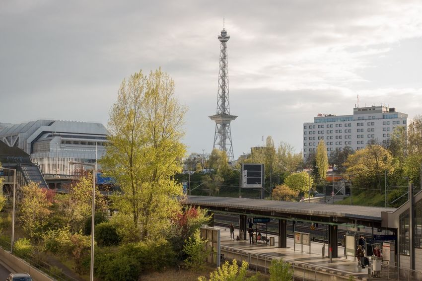 Berlin Funkturm Funkturm Berlin Cityscapes
