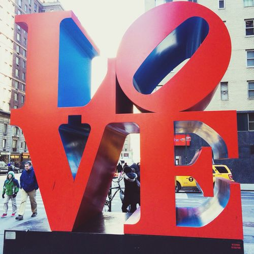 Love New York Hanging Out Enjoying Life