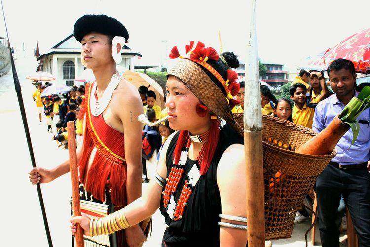 Traditional attire Sümi Naga.