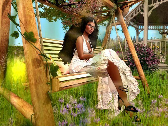 Happy Spring, the Virtual kind. #April Virtual Reality Seasons Secondlife Springtime Virtual World