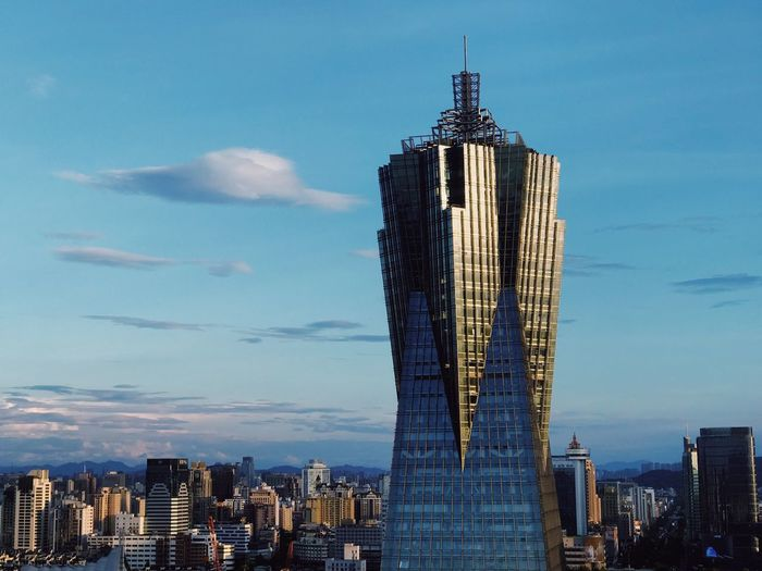 Architecture Built Structure Building Exterior City Sky Office Building Exterior Tall - High Skyscraper Tower Building Cityscape Modern Cloud - Sky Landscape Outdoors