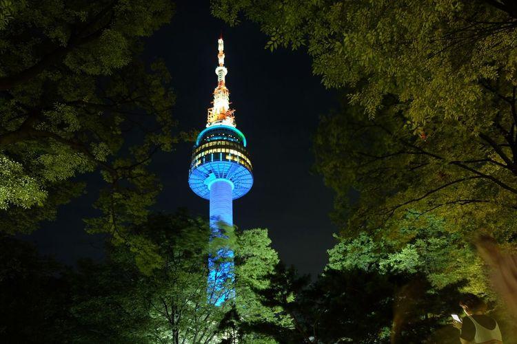 Seoul Tower Seoultower Seoul Southkorea Architecture