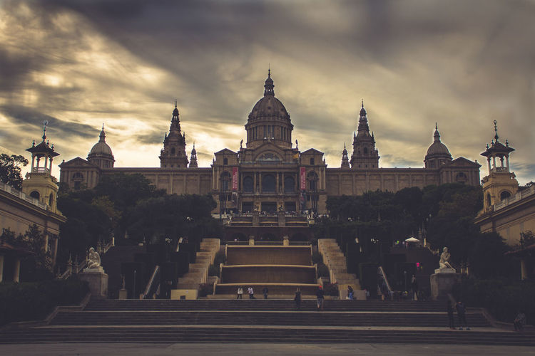 The MANAC Museum in Barcelona Barcelona Dark SPAIN Travel Travel Photography Musuem Outdoors Tourism Travel Destinations