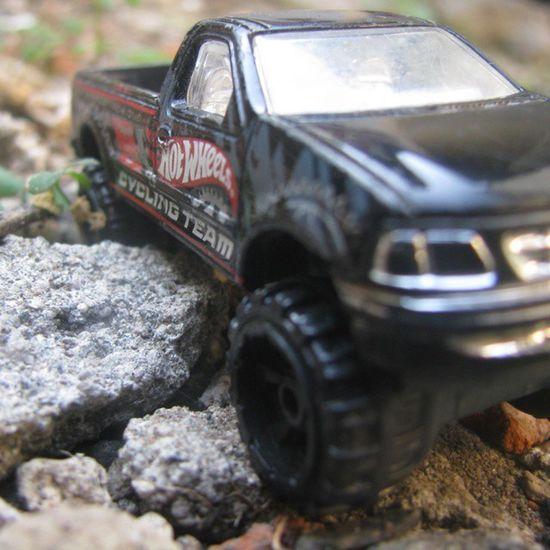 Ford f-150 Mycollection HotWheels Cars Toys Favorite Bigfoot Truck Rocks Ground Black Colour Takephotobycanon Instacar Instacollection Instatoys Instalike Instagood Liketolikes Tagsforlikes Follow Followme