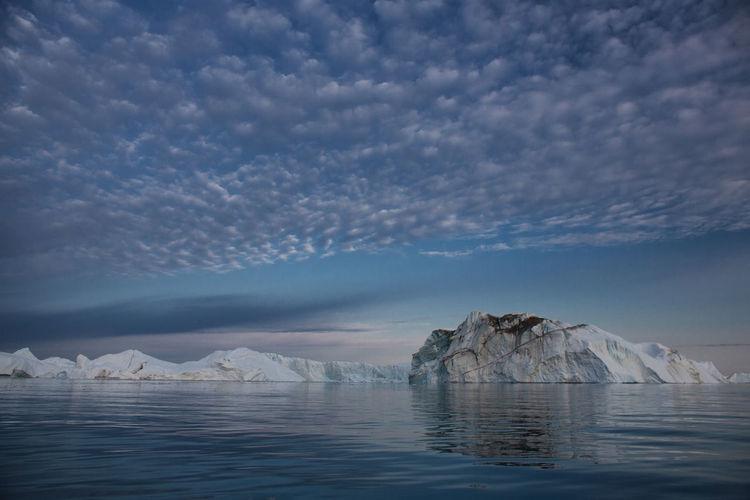Colors Greenland Ice Nature Reflection Arctic Arctic Circle Iceberg Ocean Seascape Sky Sun Sunset