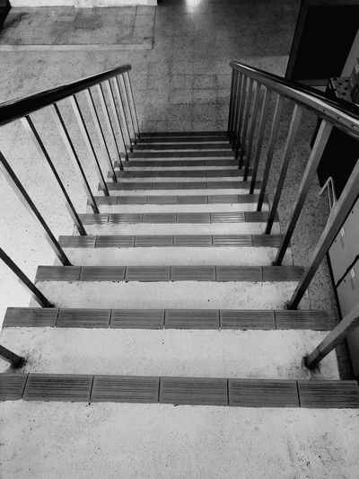 Low angle view of staircase