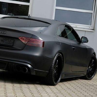That's it, am becoming a drug dealer! Audi Matteblack DOPE Coolcars SickWhip