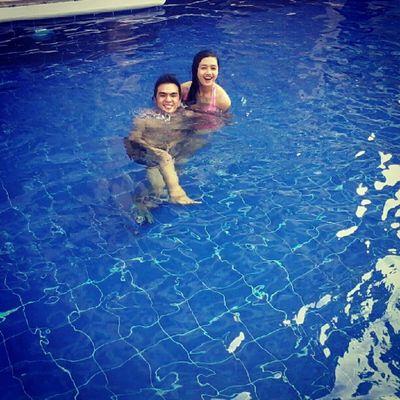 the pool ! @keziyow Superlatepost