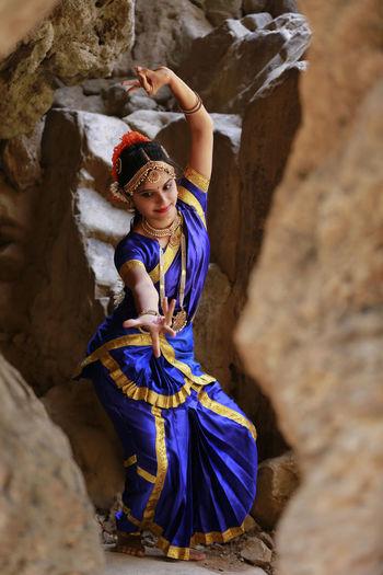 Classicaldance Bharatanatyam Beautiful Woman Outdoors Portrait Beauty India Canonphotography