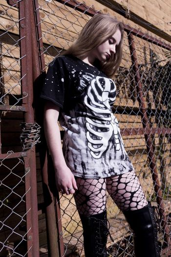 Stay Creepy Young Adult Fashion Fashion Photography The Week On EyeEm Model Model Shoot Dark Gothic Young Women Industry Urban Creepy International Women's Day 2019
