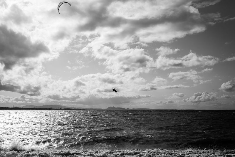 Air Be Brave Kite Silhouette Action Black And White Blackandwhite Canon Canonphotography Cloud - Sky Day Flying Horizon Horizon Over Water Kitesurfing Mid-air Monochrome Nature Outdoors Scenics - Nature Sea Shadow Sky Water Waterfront Watersports
