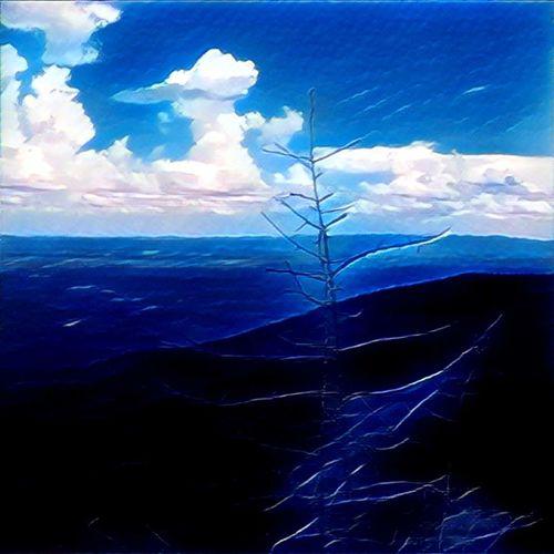 Chimney Rock Mountain Blue Ridge Mountains