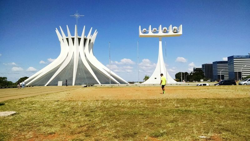 Travel Destinations History Architecture Tourism Catedral Brasilia Bsb Catedral Brasília City Cathedral Church No People