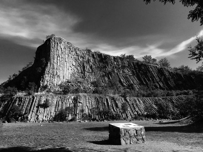 Mountain Sky Nature Rock - Object Outdoors No People PalaPhoto Zánka Blackandwhite Blackandwhite Photography Black And White Black & White Hegyestű The Week On EyeEm