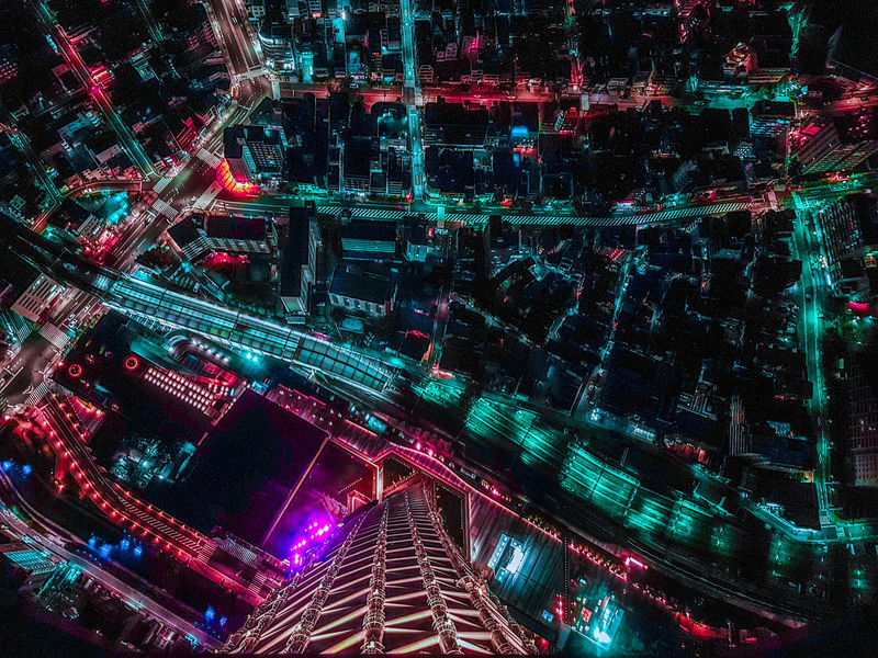 Japan night city scape , tokyo skytree #colors #japan #street #retro #Electrical #Bright #building #black  #line City Color Night Shadow Landscape Colorful Pastel Tokyo Alley Film Light #land #Night Red Illuminated Multi Colored Technology Full Frame Pattern Abstract Close-up