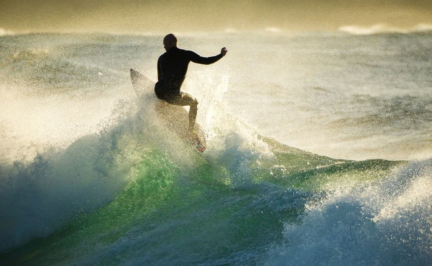 Early surfing