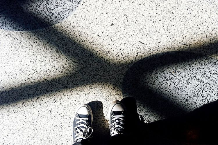 Chuck Taylor Converse All Star Urban Geometry Urban Landscape Shadows & Lights Lajolla Sandiego California