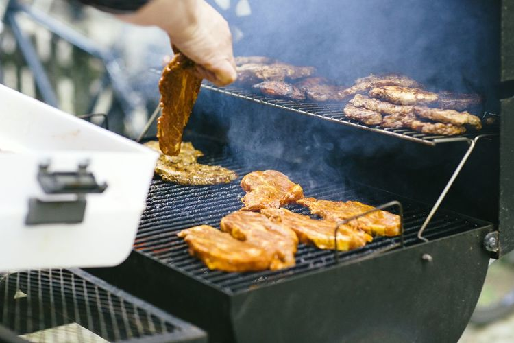 BBQ BBQ Time Grill Broiler Barbecue Smokey Meat Meat Love Steaks
