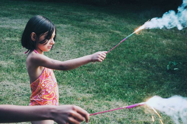 The fourth of July. Sparklers 4th Of July Celebrating With Friends Vscocam Summer Views