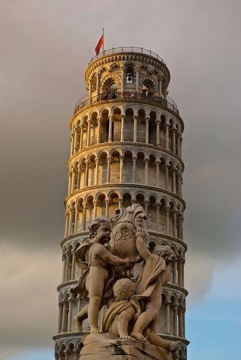 Sunset Pisa Tower Street Photography
