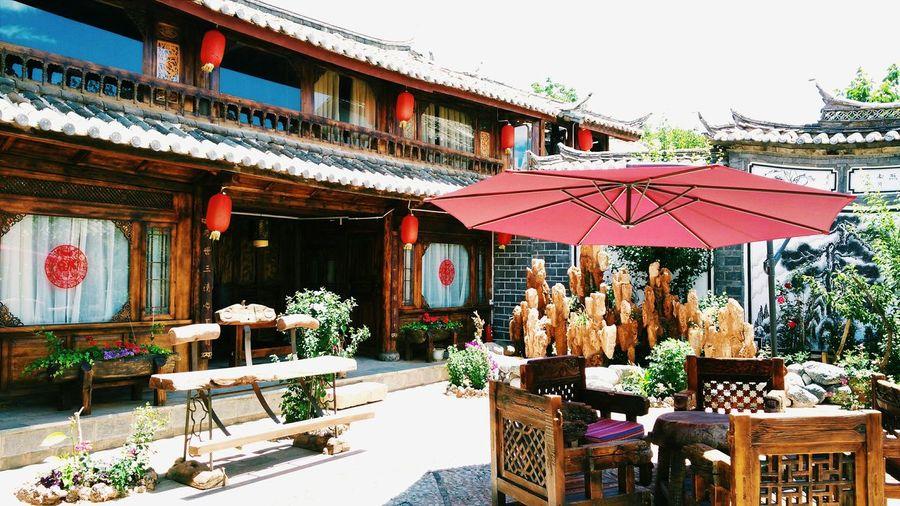 Lijiang 白沙 Enjoying Life Taking Photos Hi! 观山悦客栈 China Culture China Town China Photos Special Hotel 纳西味很足的 我家客栈🏨