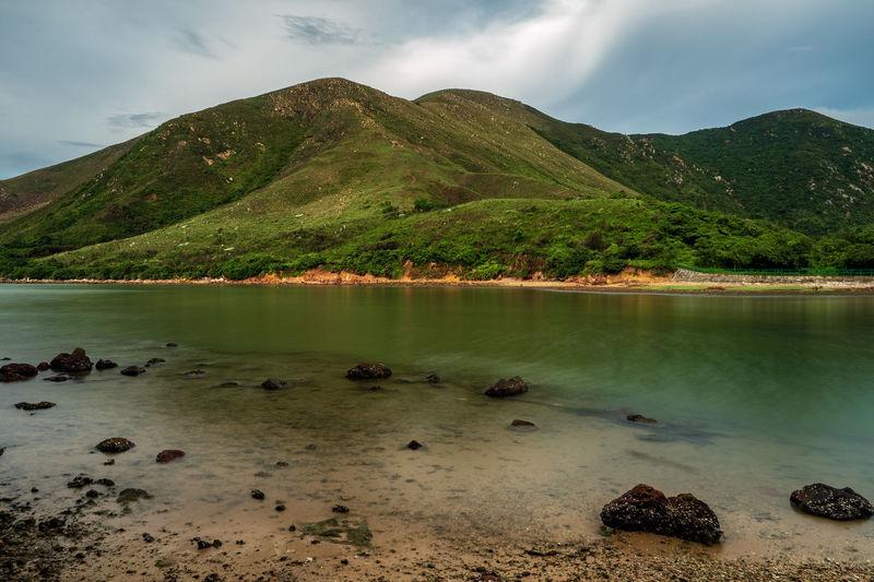 Water Beach Tree Mountain Lake Beauty Lava Sky Landscape Cloud - Sky