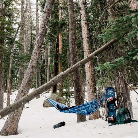 'A' for Arizona > 'B' for Burton's new Honey-Baked Hammock > 'C' for Chilling and a midday shred nap! Not Bad Good Times