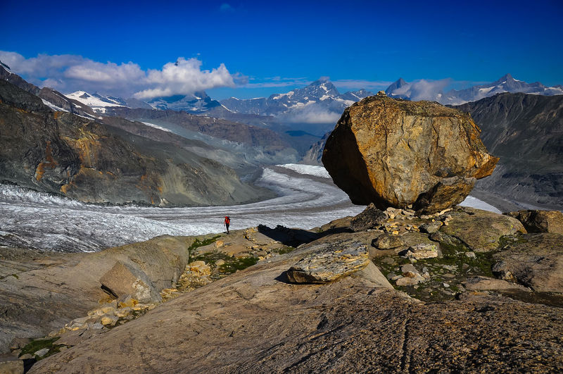 Monte Rosa Mountaineering Zermatt Beauty In Nature Bouldering Cloud - Sky Cold Temperature Day Environment Formation Landscape Mountain Mountain Range Nature Non-urban Scene Outdoors Rock Rock - Object Rock Formation Scenics - Nature Sky Solid Tranquil Scene Tranquility Winter