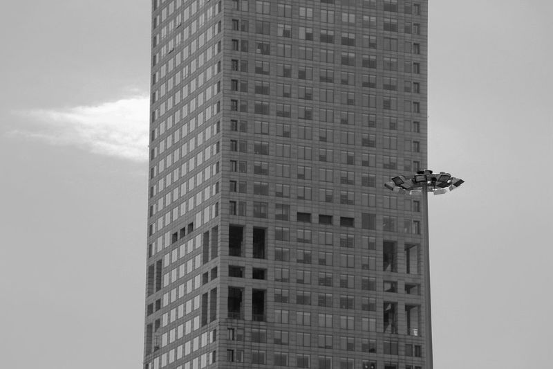 Look!Is this a UFO? Architecture Better Look Twice Blackandwhite Building Building Exterior Built Structure City Life Creativity Exterior Getting Creative Getting Inspired Look Twice Modern Office Building Pattern Showcase March Skyscraper Tall Up Close Street Photography UFO UFO Sightings Unbelievable Urban Photography In Motion Telling Stories Differently