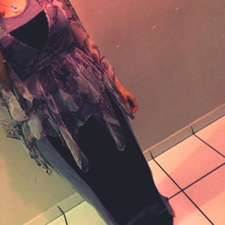 Look du Jour . Dress Gap Kimono Katemoss