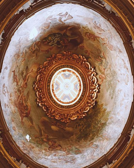 Ceiling of