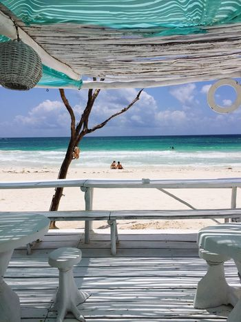 Mexico Ocean View Tulum , Rivera Maya. Ocean Beachphotography Beach Caribean Tulum Riviera Maya AMPt_community AMPt - My Perspective AMPt - Angles Couple Couples❤❤❤ Love Paradise Paradise Beach Sommergefühle EyeEm Selects Connected By Travel This Is Latin America